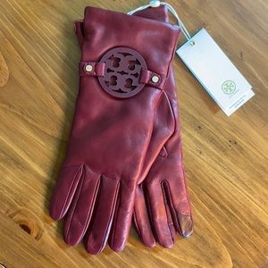 NWT TORY BURCH LEATHER GLOVES
